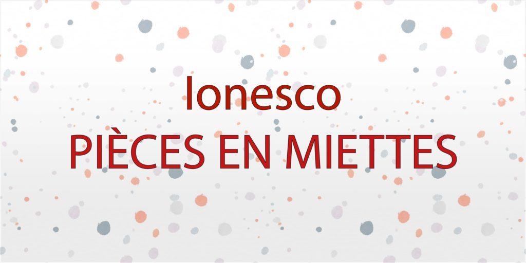 2020 – Ionesco