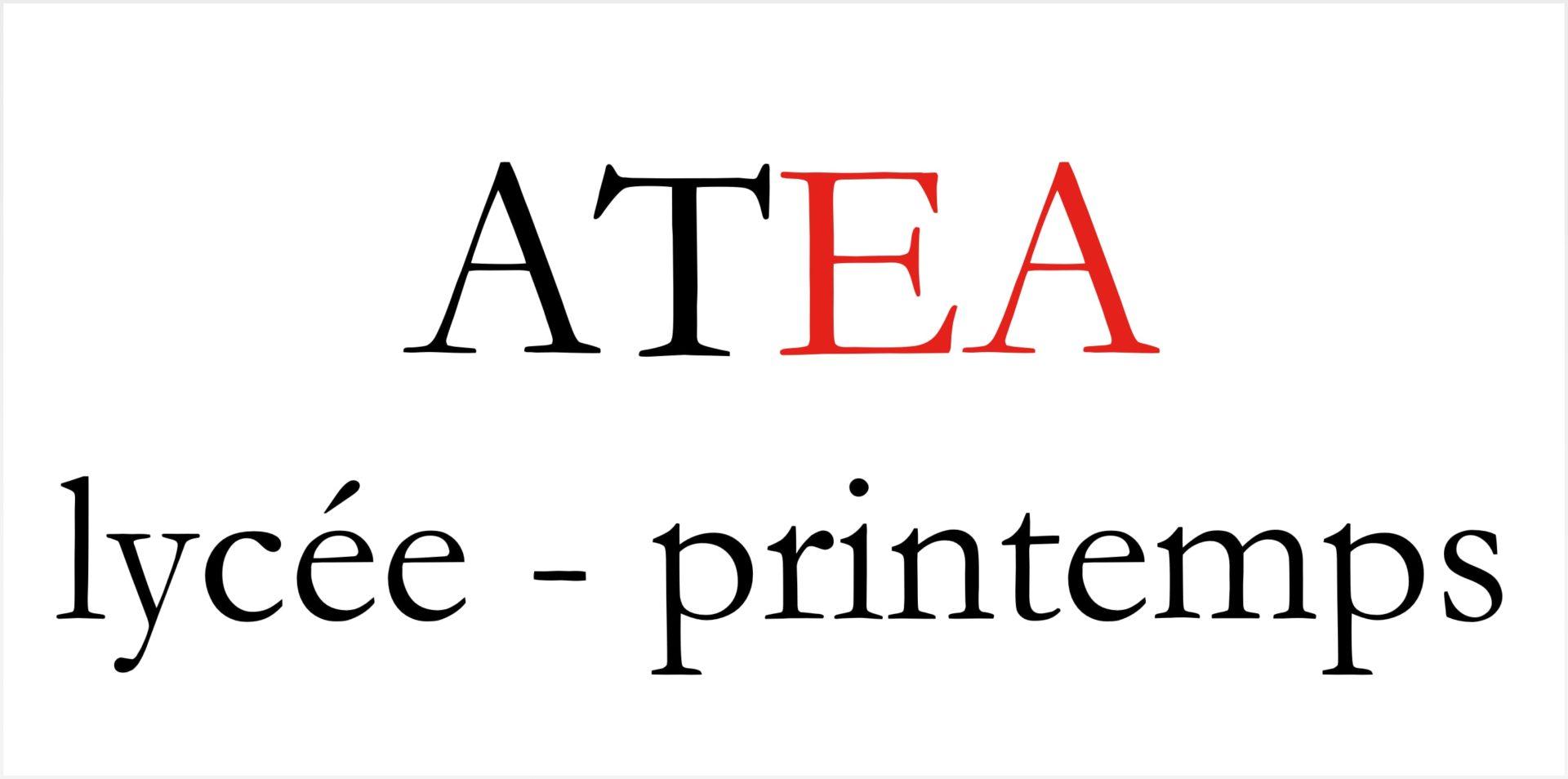 ATEA Lycée Printemps
