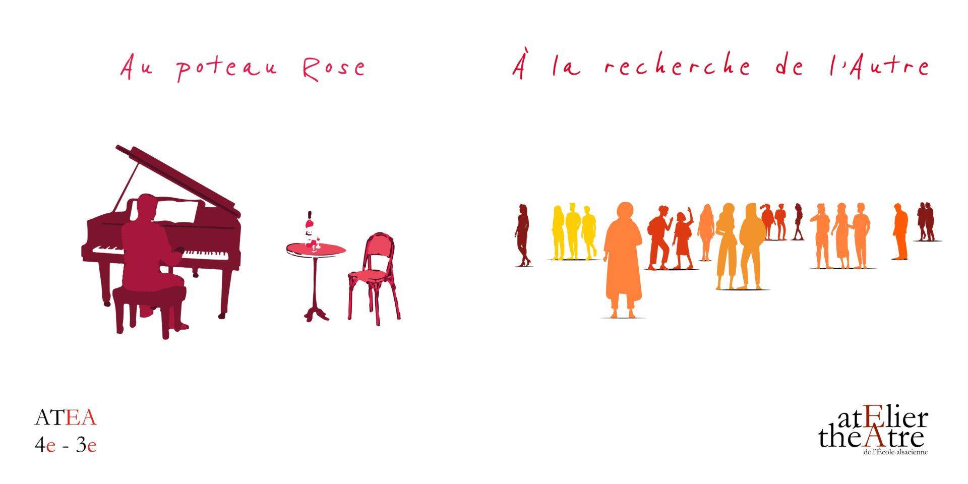 2021 – 4e/3e – Au Poteau Rose et À la recherche de l'autre